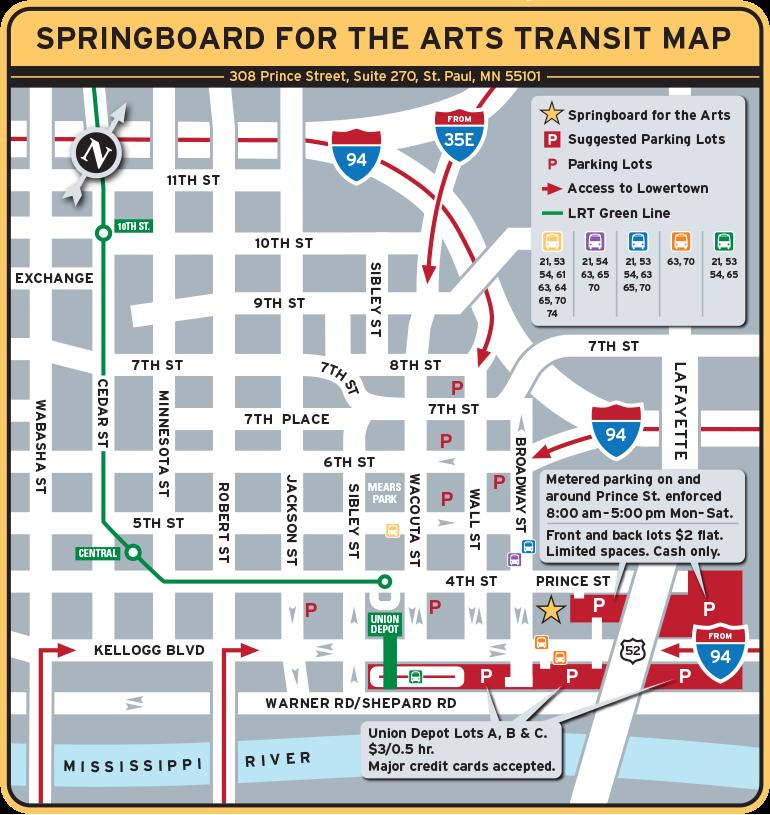 Springboard Transit Map 2014