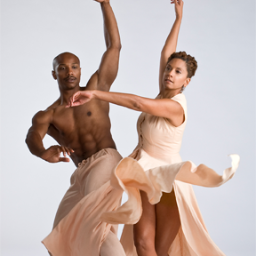 Toni Pierce-Sands and Uri Sands of TU Dance