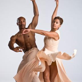 Toni Pierce-Sands and Uri Sands of TU Dance