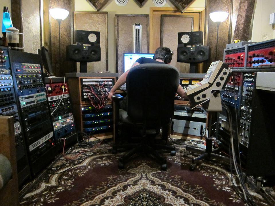 Interior of Signature Tone recording studio.
