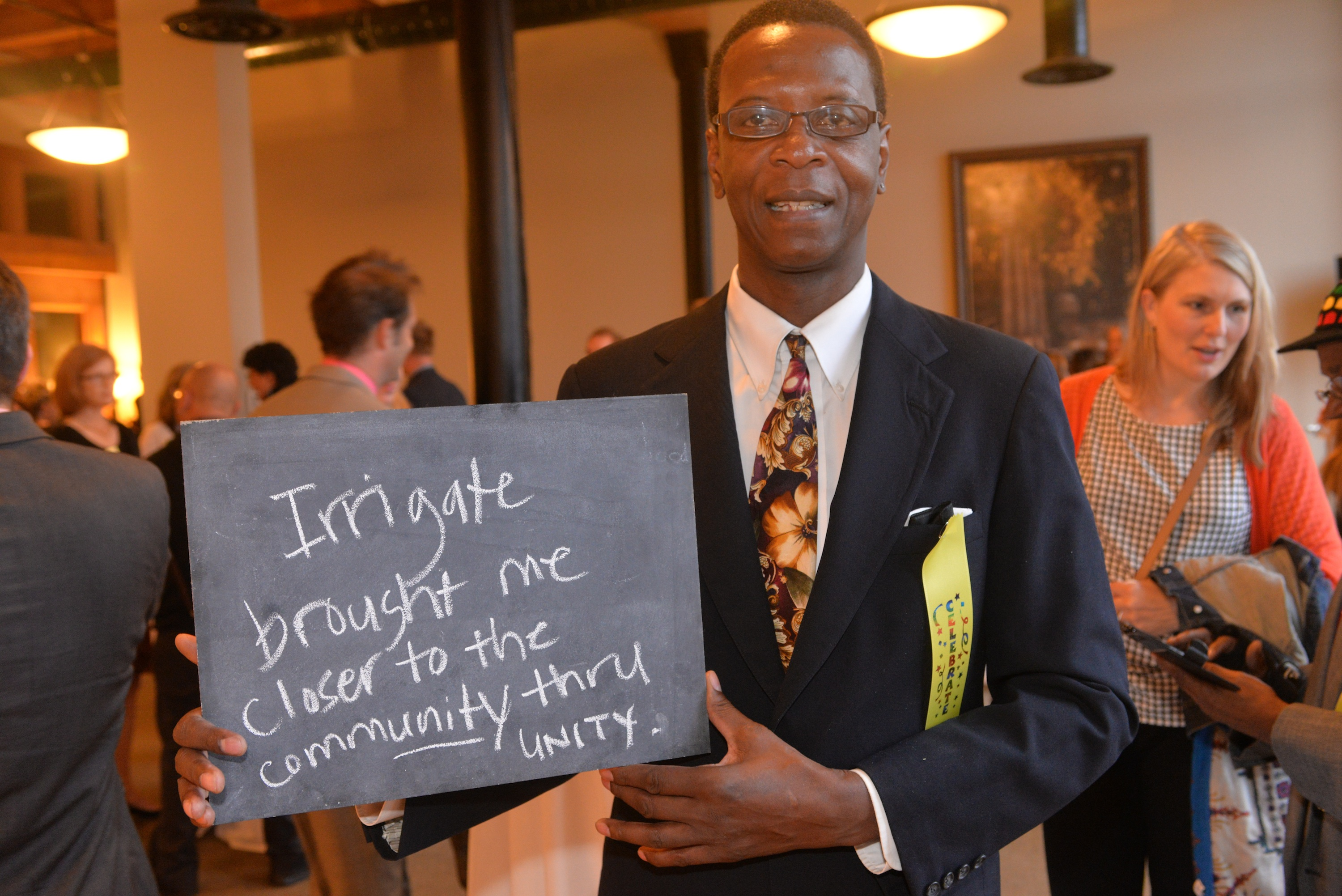 Celebrations at the closing of Irrigate, a 3-year artist-led creative placemaking partnership between Springboard for the Arts, the City of St. Paul, TC-LISC, and Artplace.