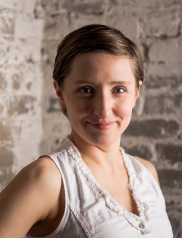 Molly Stoltz Hinge Arts headshot