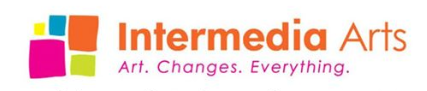 Intermedia Arts logo