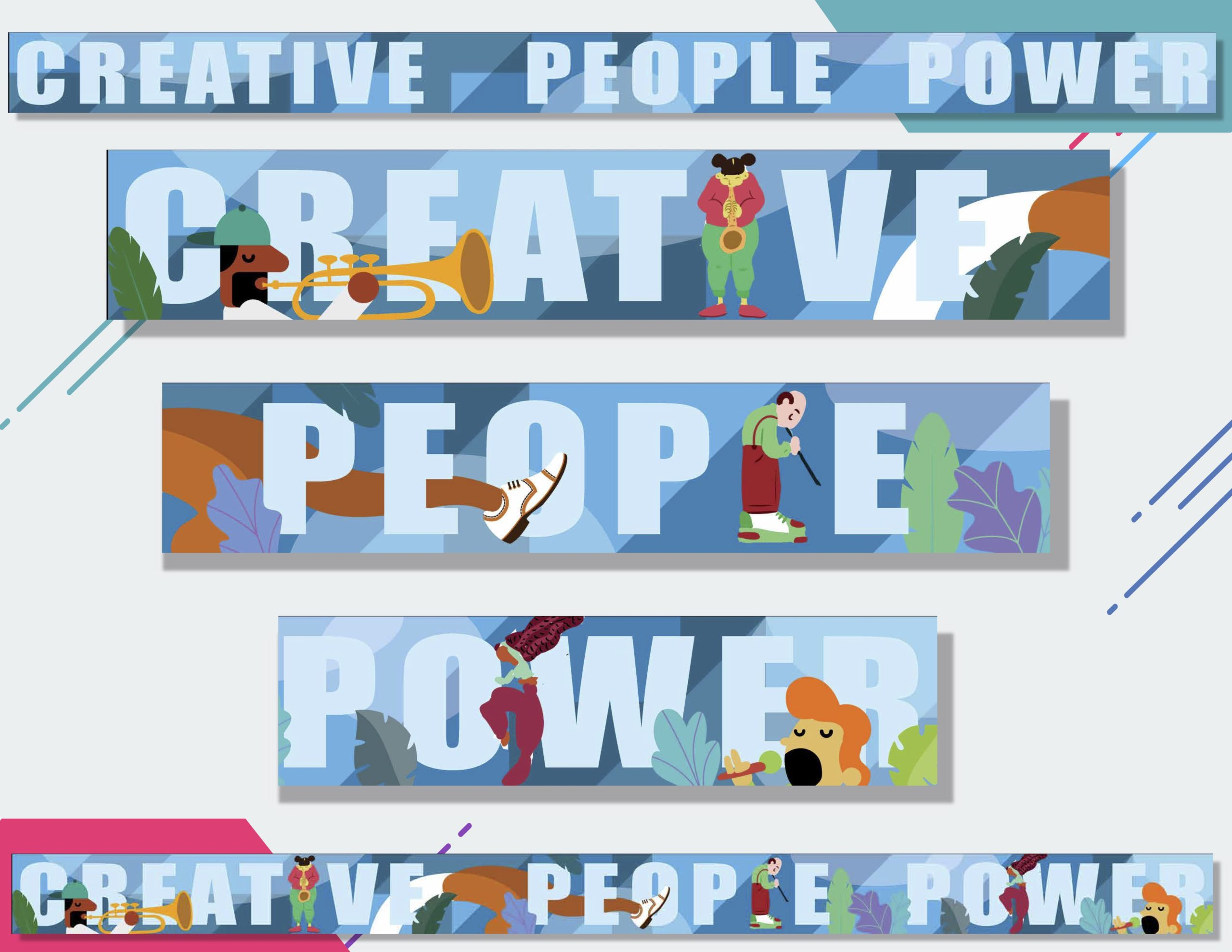 Creative People Power Mural