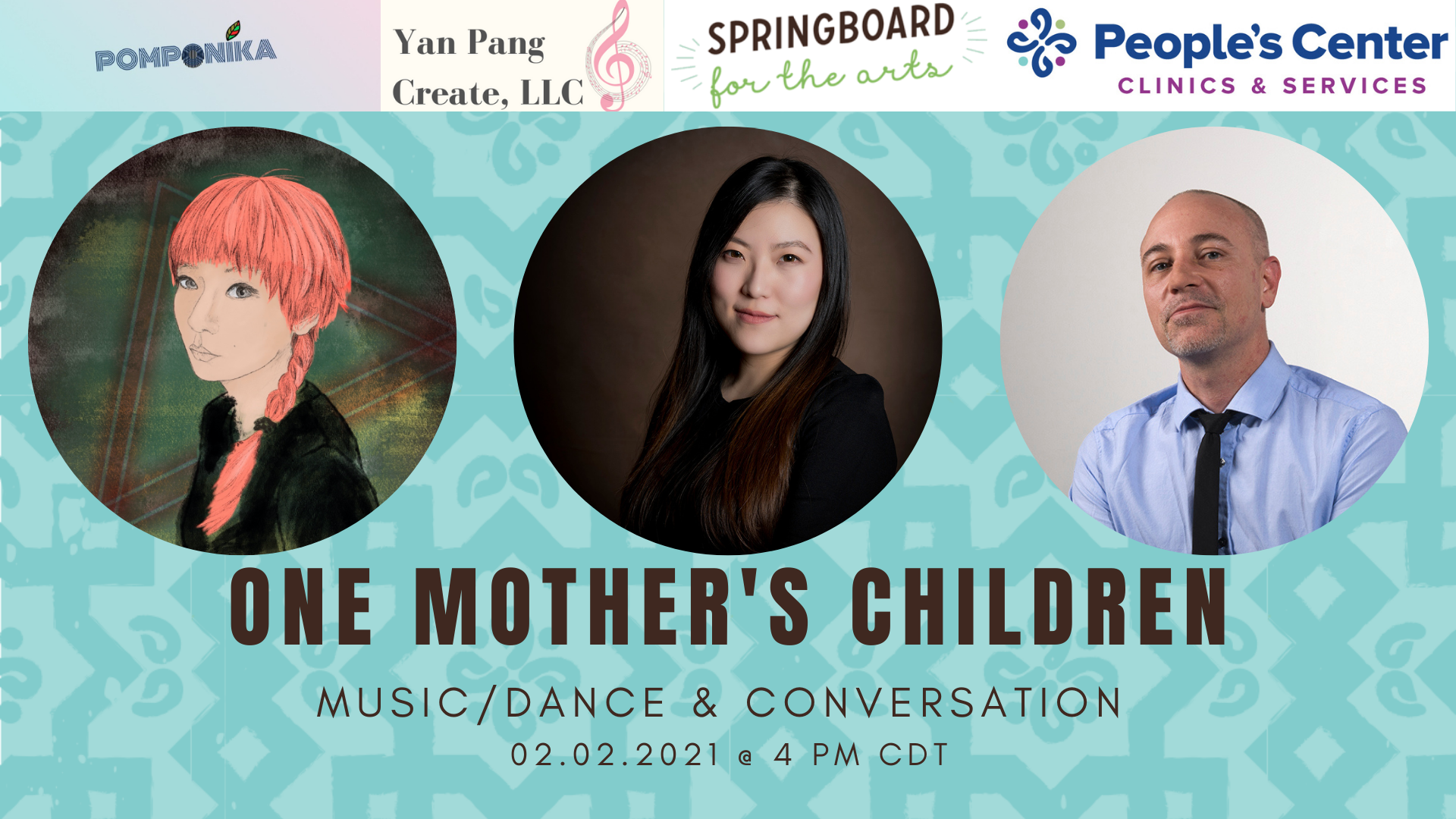 Yan Pang's One Mother's Children event poster