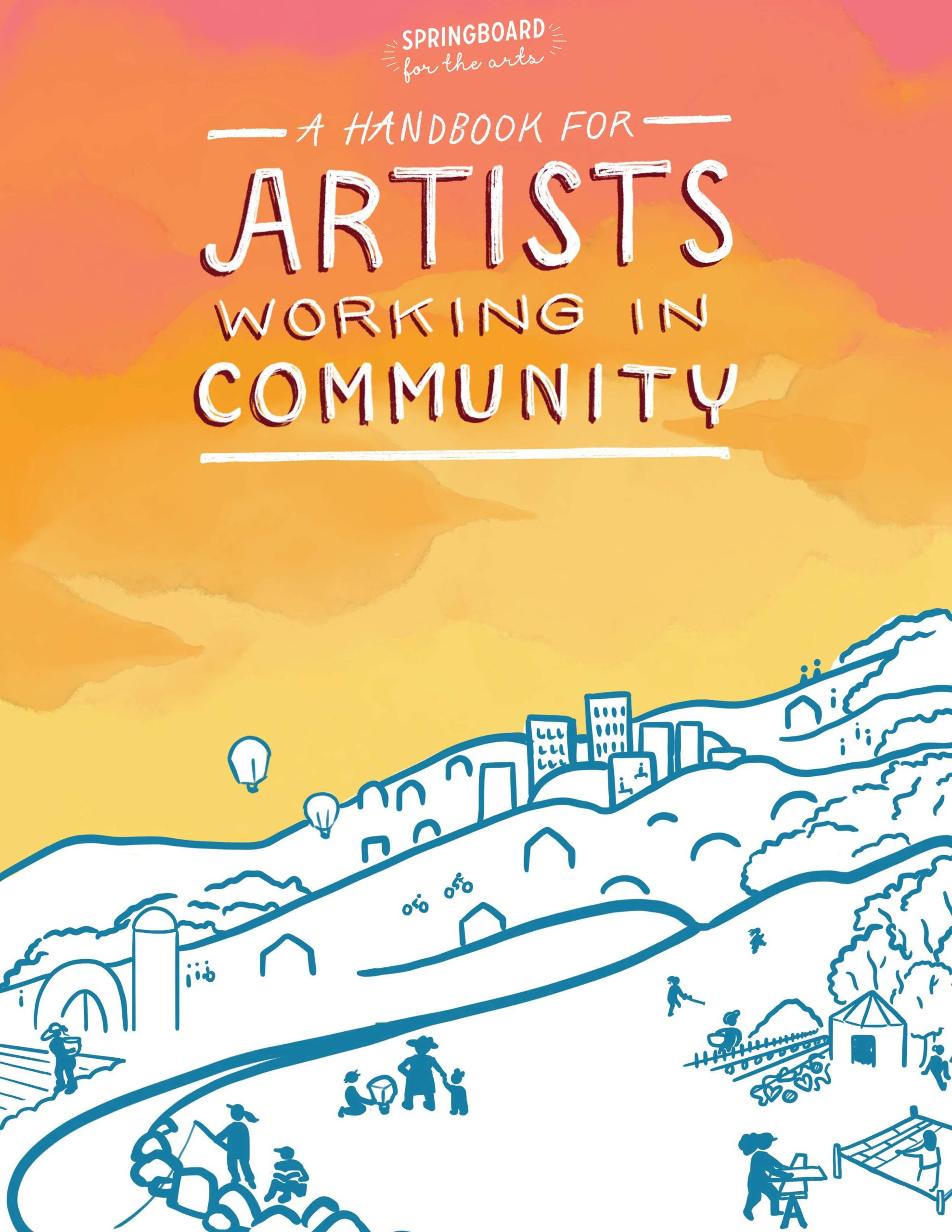 Handbook for Artists Working in Community cover