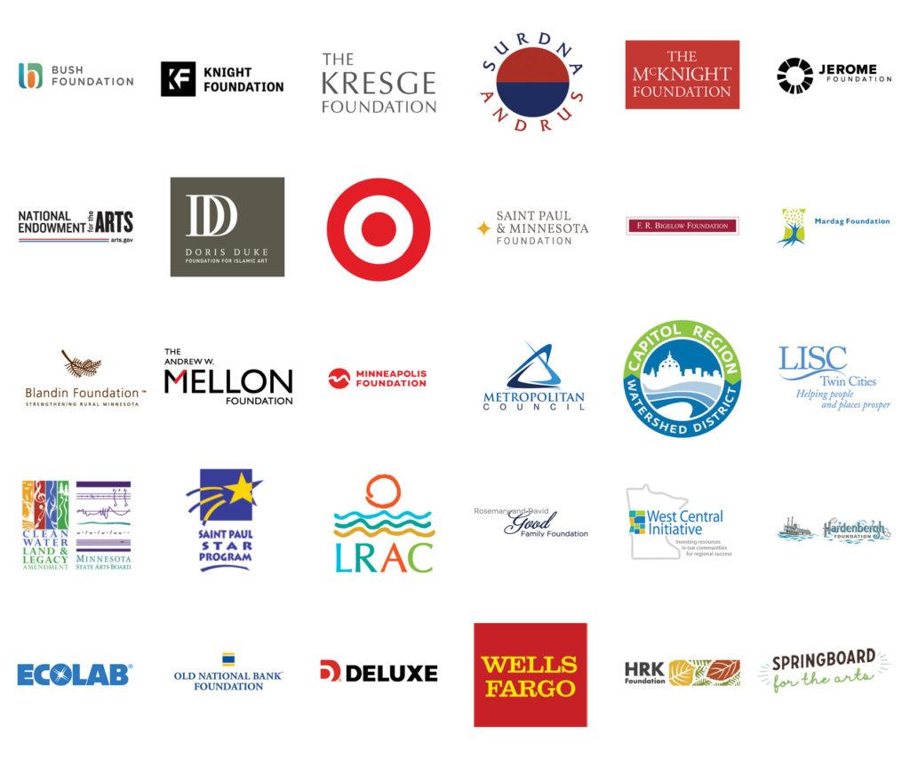 Funder Logos Spring 2021